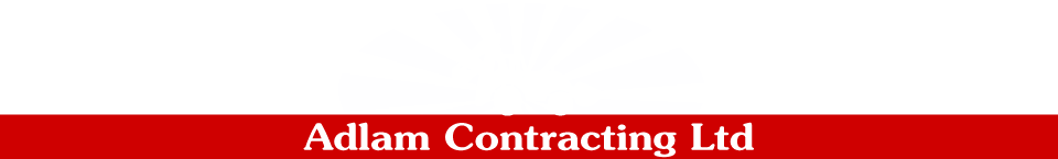 adlam contracting ltd tractor logo