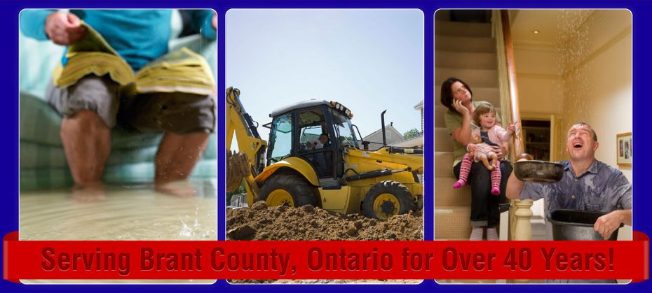 Serving Brant County, Ontario for Over 40 Years!; Flooding and excavation